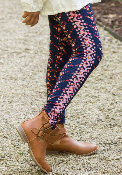 119aef0f493f5 Matilda Jane Sample Sale- Make Believe - Telling Tales Leggings ...